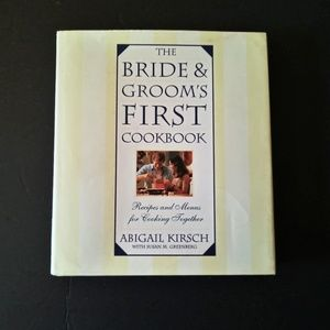 The Bride & Groom's First Cookbook 1996